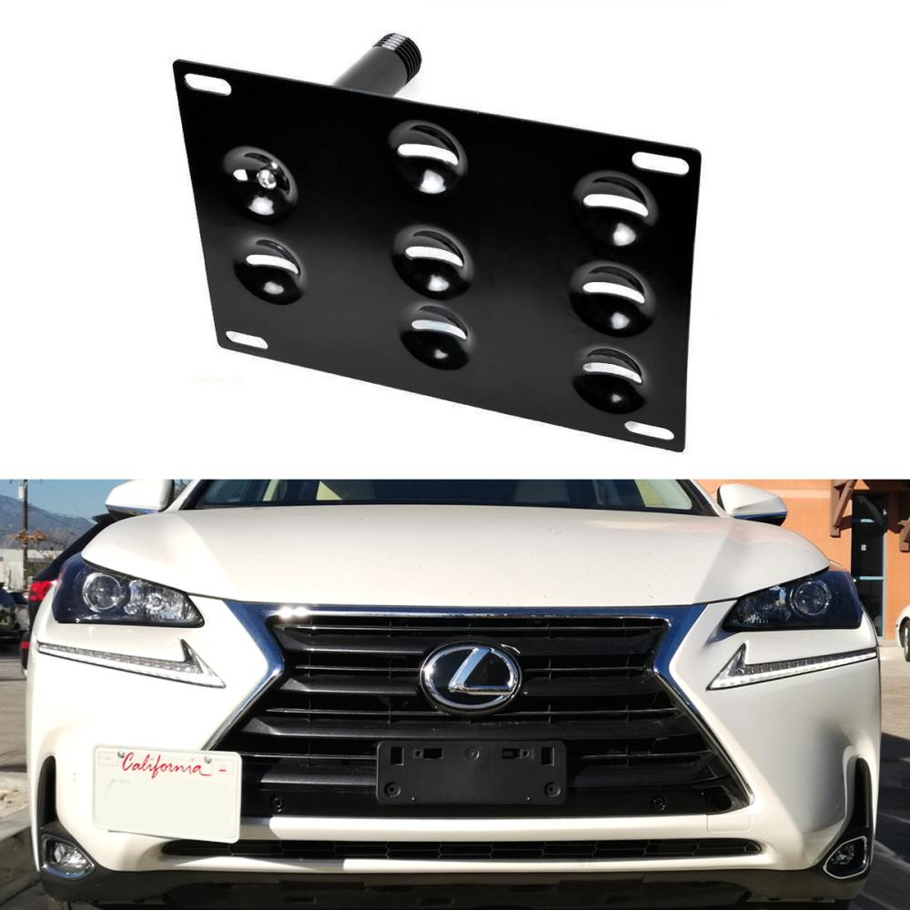 2018-2019 Lexus Nx300 Front License Plate Bracket; For Use With F-Sport; Includes Mounting Hardware; Made Of Pp Plastic Partslink LX1068131