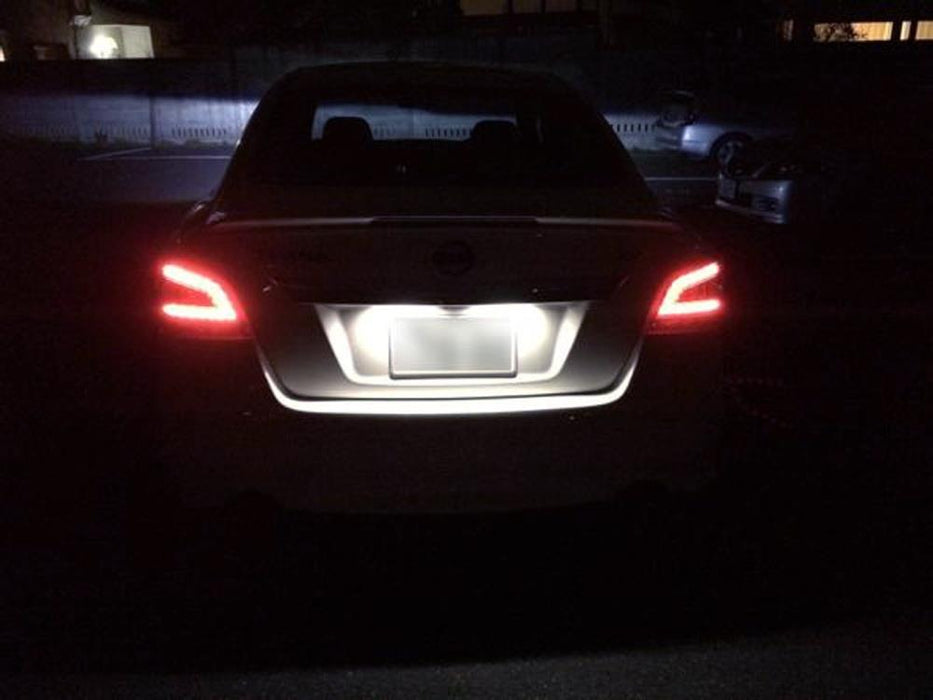 Nissan Altima Maxima Murano Infiniti Led License Plate Lights  U2014 Ijdmtoy Com