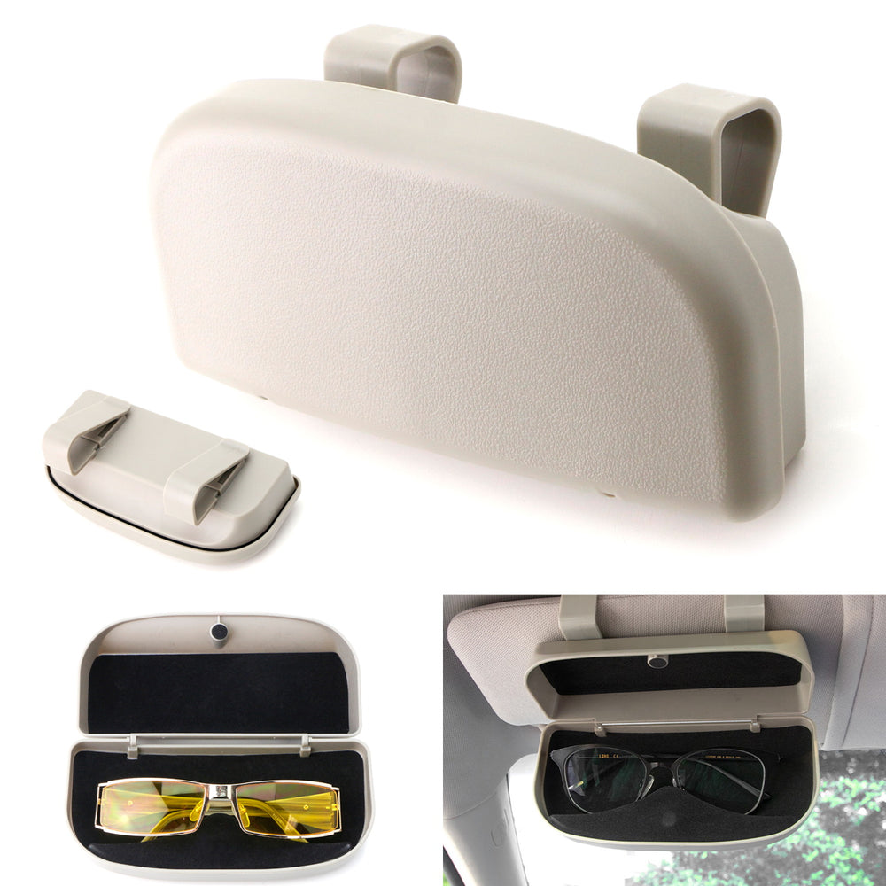Multicolor /×6 6 Pack Rotatable Car Eyeglasses Sunglasses Hanger Mount with Ticket Card Clip Glasses Holders for Car Sun Visor
