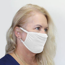 Load image into Gallery viewer, K-Lee Designs anti-bacterial and hypoallergenic Bamboo Face Mask in Blue made in Australia