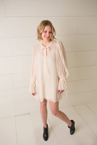 Elle Tied Shift Dress