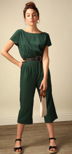 Hart back tied jumpsuit by Line & Dot