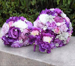 Wedding Party Bridal Bouquet Package