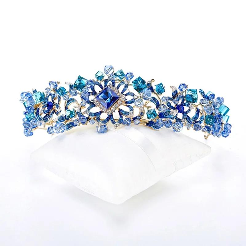 Elegant Crystal Crown