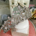 Vintage Rhinestone Bridal Crown