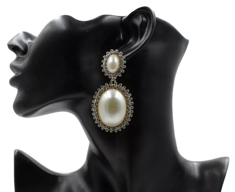 Vintage Remix Pearl Earrings