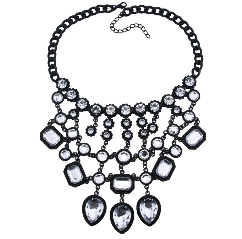 Crystal Multi-Tier Necklace