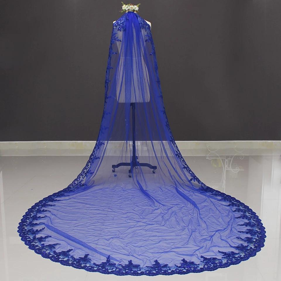 3- Meter Lace Accented Wedding Veil