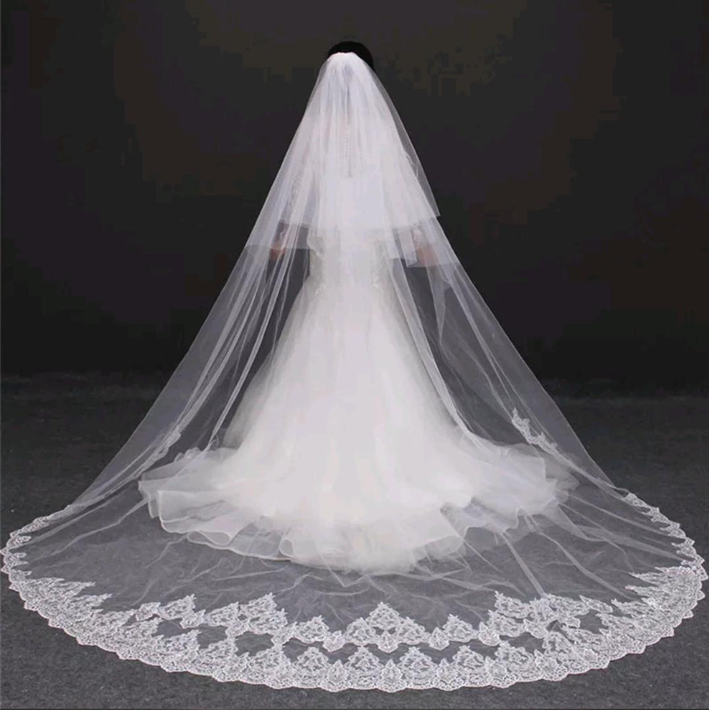 3-Meter Lace Wedding Veil