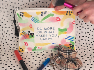 Vibrant Make Up Bag