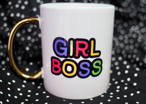 Personalised Girl Boss Mug