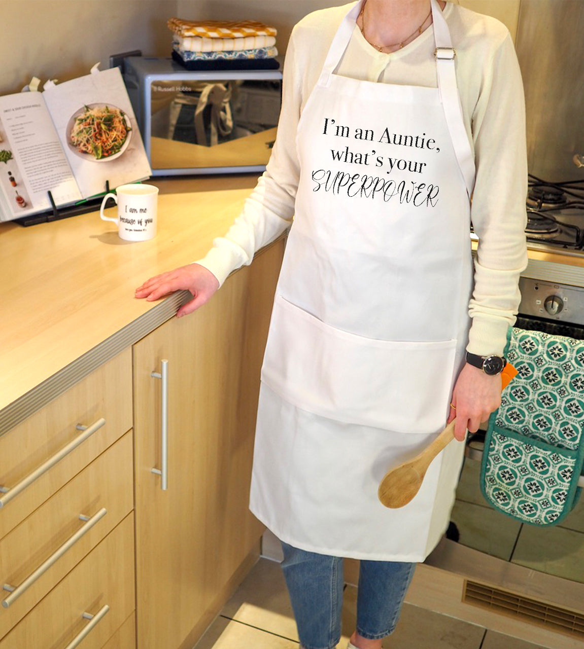 Personalised Im a ... what's your Superpower Apron