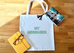 Personalised Wording Tote Bag