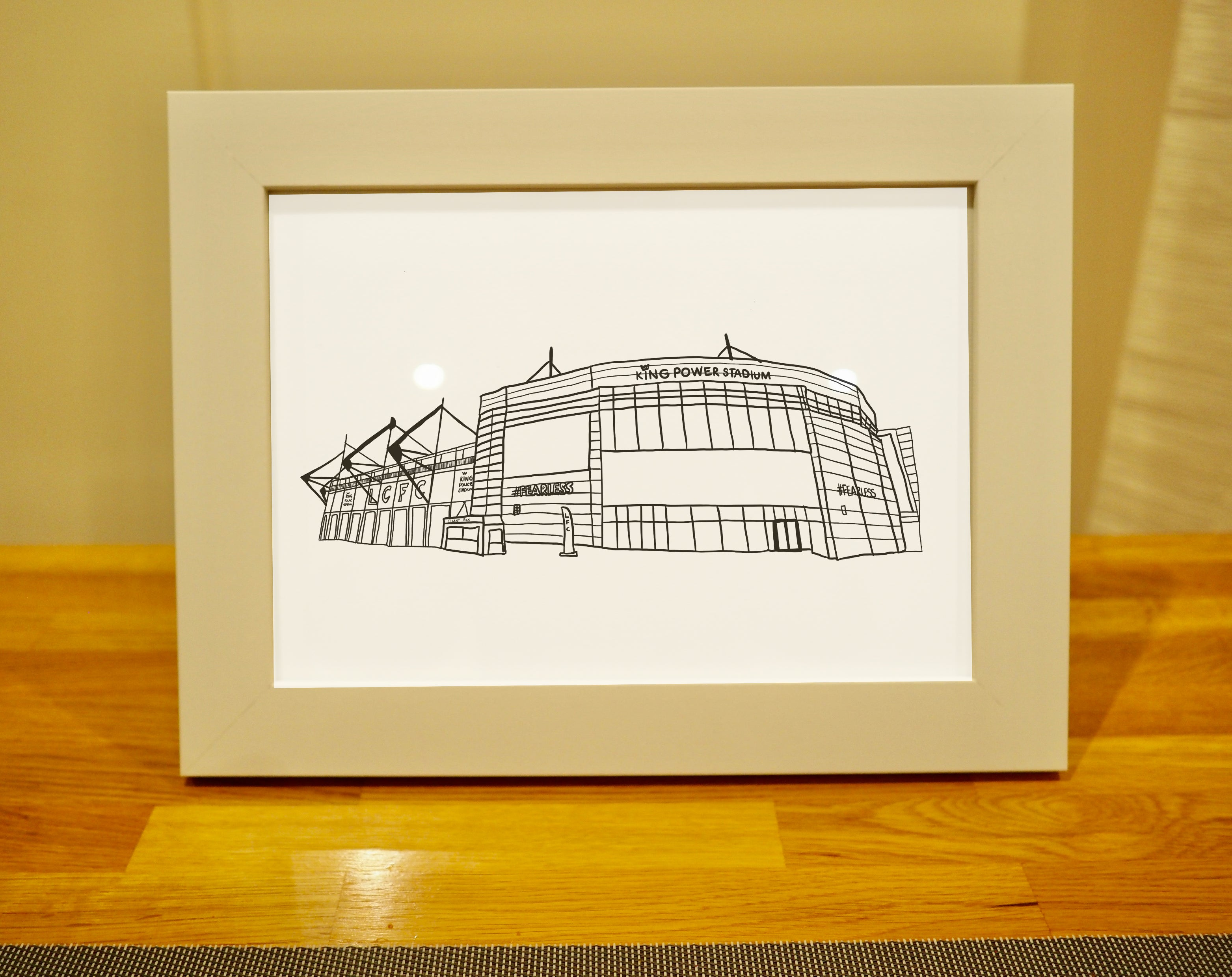 King Power Stadium, Leicester Print