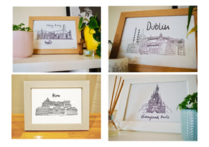 Large Destination Box with Framed Print