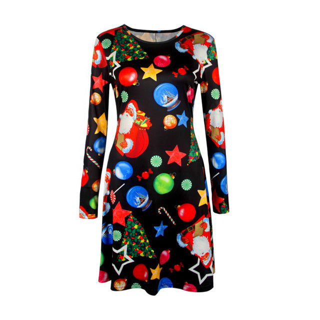 Christmas Tree Snowman Dresses - Trendism