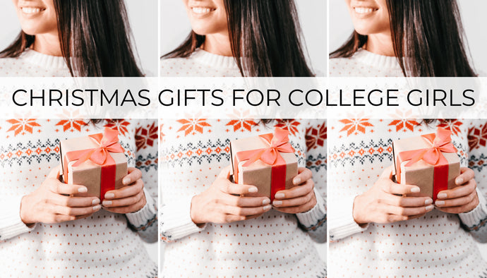 This post is all about great Christmas gifts for college girls.