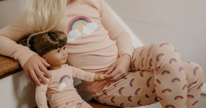 Kid & Matching Doll Pajama Sets Only $12.99 on Zulily.com (Regularly $30)