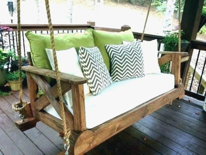Remodel Outdoor Porch Bed Swing Round