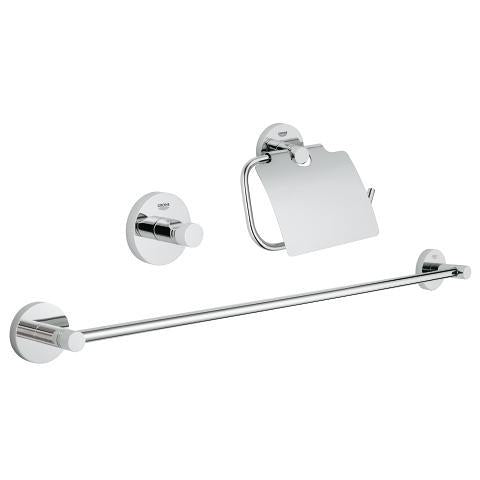 Grohe Essentials Guest Bathroom Acc Set 3In+J321