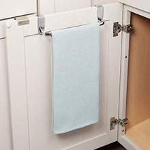Kitchen dulceny over the cabinet kitchen dish towel bar holder