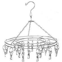 Shop stsuneu l705 hanging clip type round drying rack dripping hanger menstrual pad children hanger gloves towel hat scarf and other wet and dry hangers stainless steel wire 20pcs clip 1 set