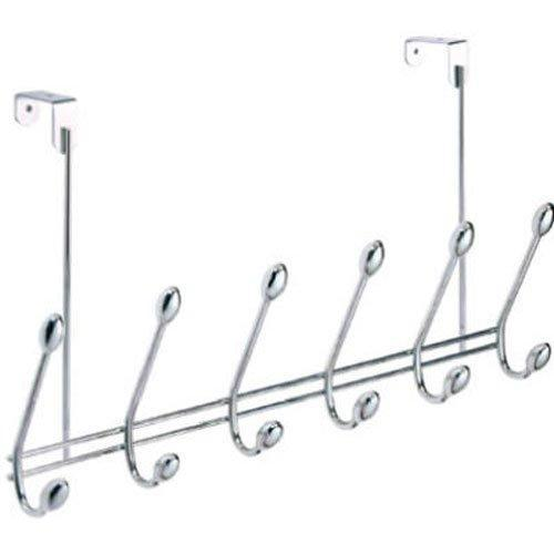 Selection watimas over door storage rack organizer hooks for coats hats robes clothes or towels
