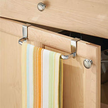 New dulceny over the cabinet kitchen dish towel bar holder