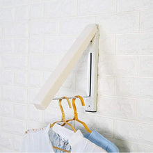 Shop for suit hangers stainless steel clothes wall hanger retractable indoor magic foldable drying towel rack
