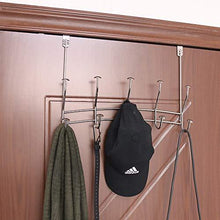 Featured vibrynt over the door hook rack heavy duty organizer hooks over door hanger for clothes coats towels hats or handbags