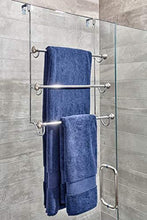 Results dosingo over the shower door triple towel rack