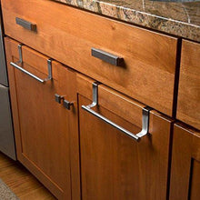 Budget friendly evelots towel bars kitchen bathroom in or out cabinet door stainless set of 2