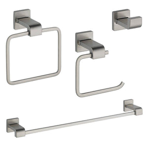 Delta KA-ARZ-4-SS Arzo 4-Piece Accessory Kit, Stainless