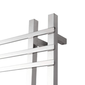 Great dayangiii electric towel rack wall mounted stainless steel heated towel rail 750560120 90w