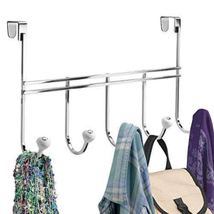 Shop here ecorelation york over door storage rack organizer hooks for coats hats robes clothes or towels