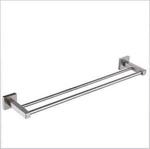 Home tower hanger towel bar cool contemporary stainless steel iron 1pc double wall mounted 1