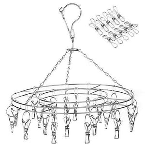 Discover the best amagoing hanging drying rack laundry drip hanger with 20 clips and 10 replacement for drying socks baby clothes bras towel underwear hat scarf pants gloves