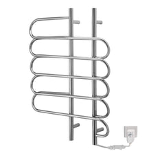 Budget tongtong wall mount towel warmers stainless steel electric heated warmer radiator towel rail bathroom 800 600 130mm 80w