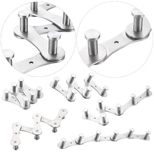 Shop for diy towel hooks wall mounted stainless steel coat hooks for bathroom 6 hooks brushed nickel