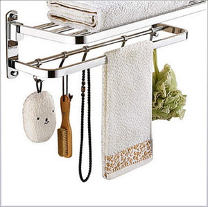 Selection tower hanger towel bar contemporary stainless steel iron 1pc double wall mounted