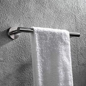 Shop hoooh bath towel bar 12 inch stainless steel towel rack for bathroom kitchen towel holder wall mount brushed finish a100l30 bn