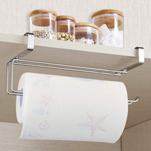 Order now paper towel holder aiduy hanging paper towel holder under cabinet paper towel rack hanger over the door kitchen roll holder stainless steel
