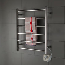 Kitchen onda towel warmer stainless steel wall mounted heated 6 bars 110 120v