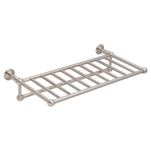 Online shopping ginger 4543 24 sn columnar 24 hotel shelf rack with towel bar satin nickel