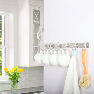 Shop for webi coat hooks sus 304 heavy duty single hat kitchen bath towel hook robe closet clothes hanger rail garment rack holder home wall mounted brushed nickel