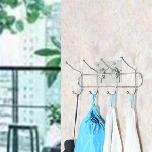 Top rated webi adhesive hooks transparent heavy duty sticky utility wall hooks for towel loofahs belt scarves purses hats keys holder no nail waterproof 2 packs