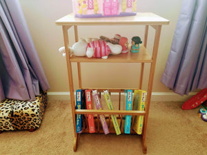 On amazon splashsoup bamboo side table compact book magazine media rack end piece natural bathroom towel stand living room corner organizer entryway caddy