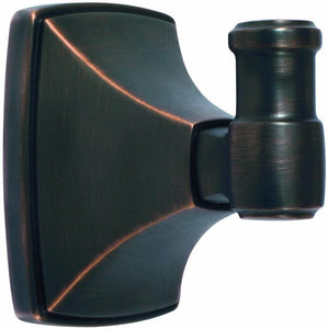 Amerock BH26502ORB Clarendon Collection Robe Hook, Oil Rubbed Bronze