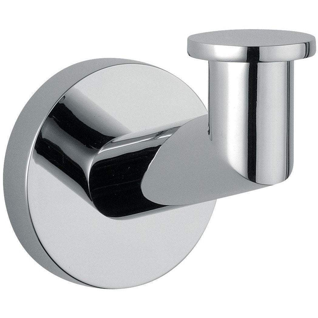 DI Hilton Wall Towel Robe Hook Hanger for Bath Towel Holder - Brass Chrome
