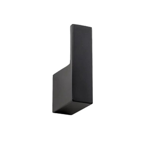 PLUMBLINE METRO1 ROBE HOOK BLACK